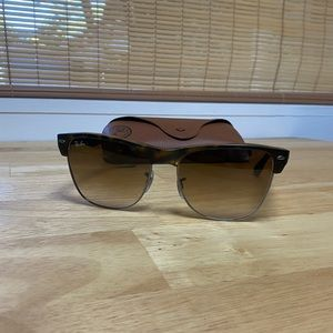 Ray-Ban Sunglasses Clubmaster Oversized RB4175